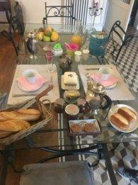 france - day 6 breakfast